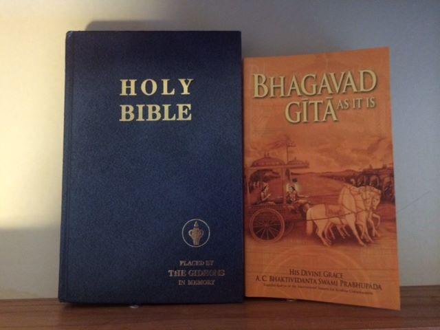 Bible and Bhagavad-gita