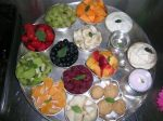 Prasadam - Sattvik food lovingly offered to Krishna