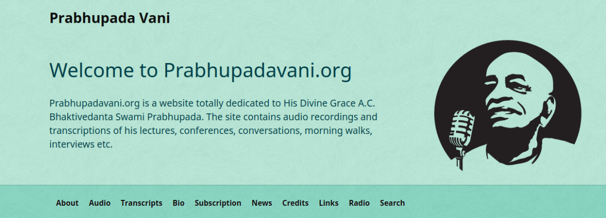"Where can I hear ""Bhagavad-Gita As It Is""?"