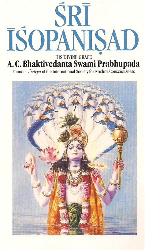 Sri Ishopanishad - the Science of God