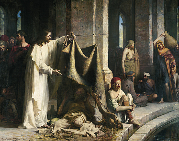 Blessed are the poor in spirit, for theirs is the kingdom ofheaven